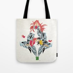 ponyo on the cliff by the sea Tote Bag