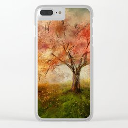 Sprinkled With Spring Clear iPhone Case
