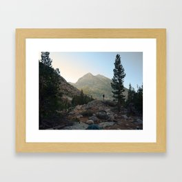 FROM THE TENT Framed Art Print