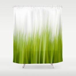 Grass wipe --- Gras-Wusch Shower Curtain