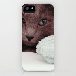 Cat by Giovanna Karla (givi) iPhone Case