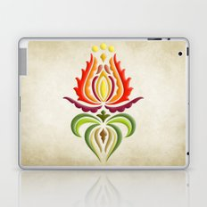 Fancy Mantle on Vintage Background Laptop & iPad Skin