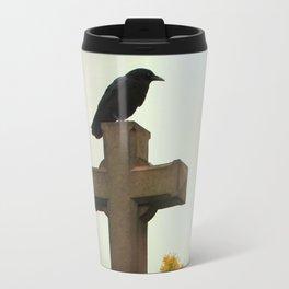 Gothic Glow Of Fall Travel Mug