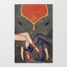 Circus Romance Canvas Print