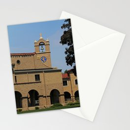 Lourdes University  in the Spring I Stationery Cards