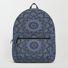 Jeans star kaleidoscope 3D Backpack