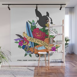 Cartwright Brothers - Fool Series - Coat of Arms Wall Mural