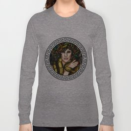 Medusa Warrior  Long Sleeve T-shirt