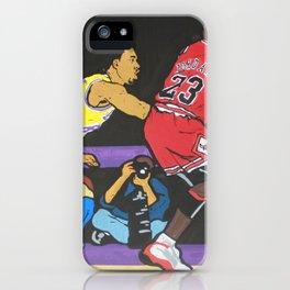 GOAT VS GOAT iPhone Case