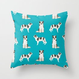 Border Collie dog breed gifts collies herding dogs pet friendly Throw Pillow