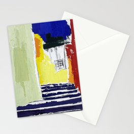 town view Stationery Cards