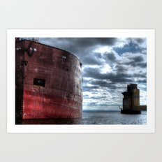 'Big Boat' Art Print
