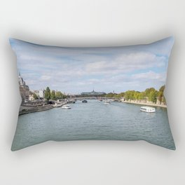 Musee d'Orsay from Pont Royal Rectangular Pillow