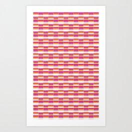 *STRIPE_PATTERN_1 Art Print