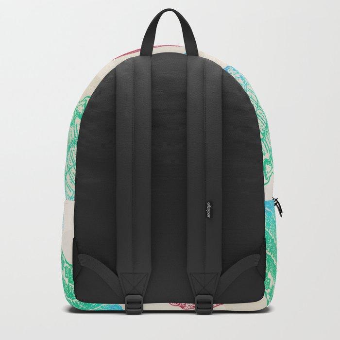 Marine Pattern 07 Backpack