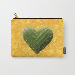 Cactus Heart - Coeur de Cactus Carry-All Pouch