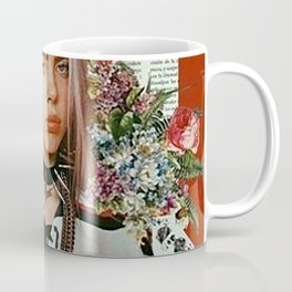 Billie Eilish Graphic Artwork Coffee Mug