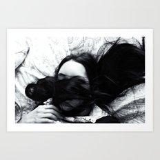 Hidden Thoughts  Art Print