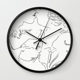 a love that overwhelms Wall Clock