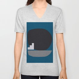 Shape study #4 - Stackable Collection Unisex V-Neck