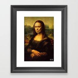 The Mona Buscemi Framed Art Print