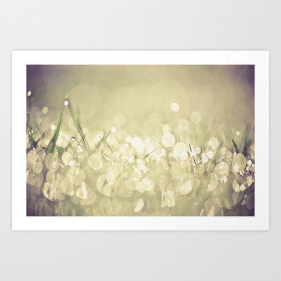 morning dew no.3 Art Print