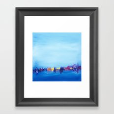 The Harbor Framed Art Print