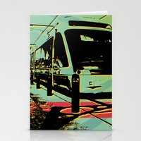 train Stationery Cards featuring Train by Pedro Nogueira