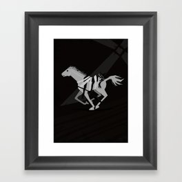 Quijote. Don Quijote Framed Art Print