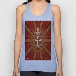 The Holy Spirit By Saribelle Rodriguez Unisex Tank Top