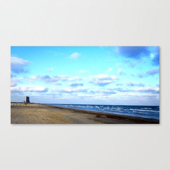 Beaches for Miles Canvas Print