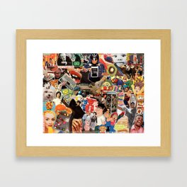 WHAT THE FRIDGE WON'T HOLD Framed Art Print