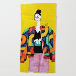 Women style Beach Towel