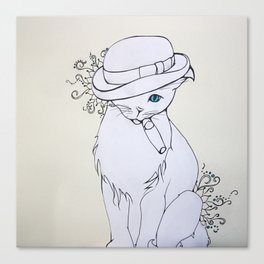 Bad Cat Canvas Print