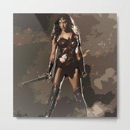 Diana Prince 3 Metal Print