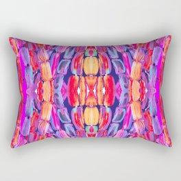 Ultraviolet Purple Sugarcane Pattern Rectangular Pillow