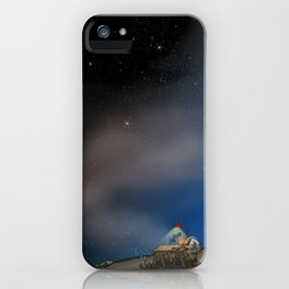 I Am Closer Than You Think iPhone Case