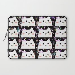 cats chewing gum 44 Laptop Sleeve