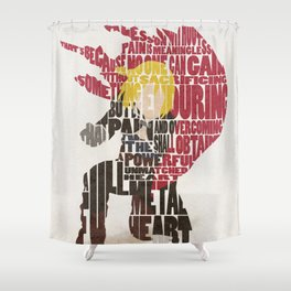 The Little Red Runt Shower Curtain