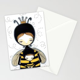 Queen Bee Motherhood Stationery Cards