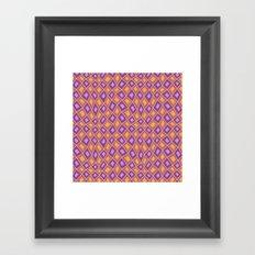 Diamonds are Forever-Fiesta Colors Framed Art Print
