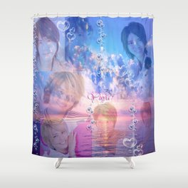 Bubbly Tego Shower Curtain