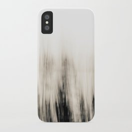 Trees By the Sea Abstract iPhone Case