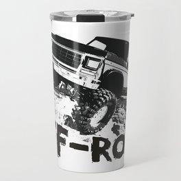 A distressed rock crawling off-road design Travel Mug