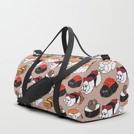Sushi Poodle Duffle Bag