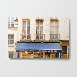 Paris Boulangerie Metal Print