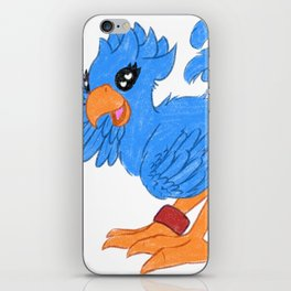 Blue Chocobo iPhone Skin