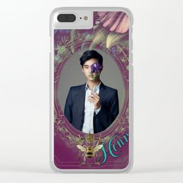 Henry Cheng1 Clear iPhone Case