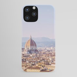 Florence Skyline - Italy Travel Photography iPhone Case