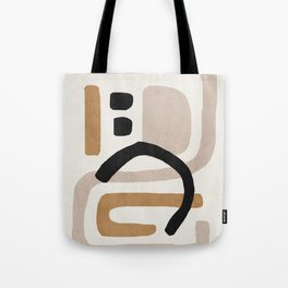 Abstract shapes art, Mid century modern art Tote Bag